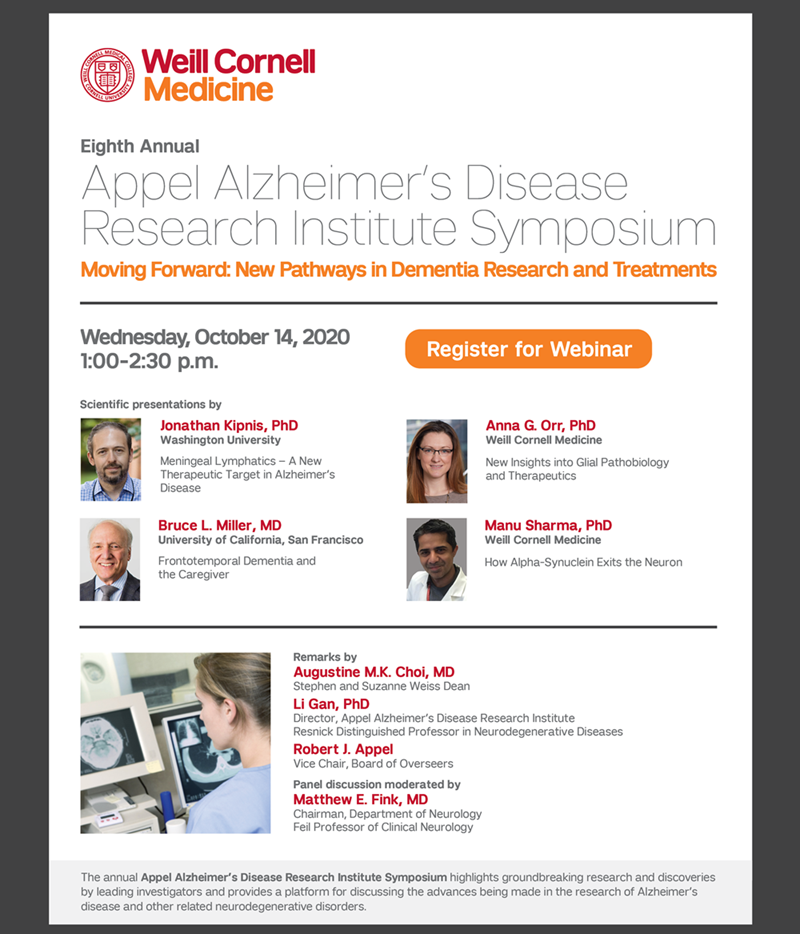 Appel Alzheimer's Disease Research Institute Symposium