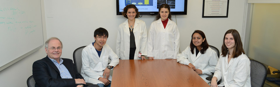 Dr. Gregory A Petsko and his laboratory members.
